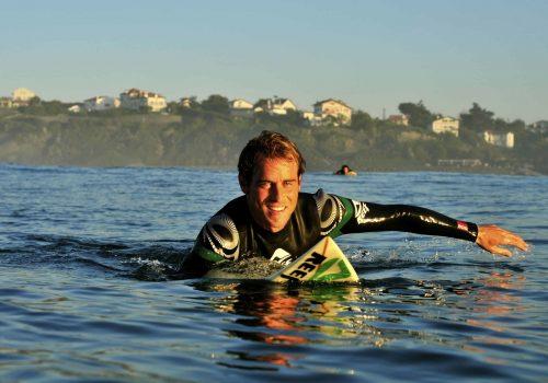 Manu Portet, Experience surf school